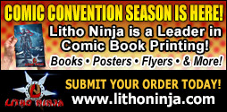comic con convention comic book printing