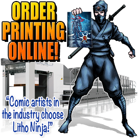 online comic book printer - comic book printing